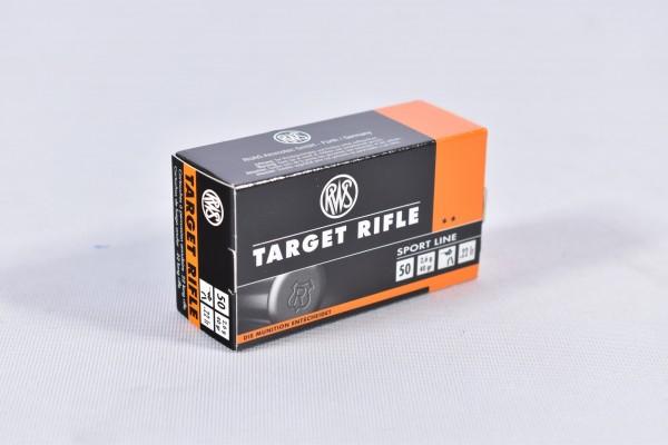 Munition bleihaltig RWS 40grs Target Rifle 50STK .22lr
