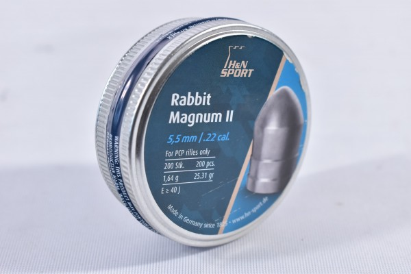 Diabolo H&N Sport 25,31grs Rabbit Magnum 200STK 5,5mm