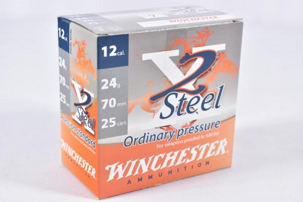 Stahl Flinte Winchester 24g X2 Steel 25STK 12/70