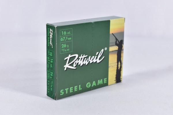 Stahl Flinte Rottweil 26g Steel Game 3,0mm 10STK 16/67,5
