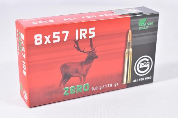 Munition bleifrei Geco 139grs IRS Zero 20STK 8x57 IRS
