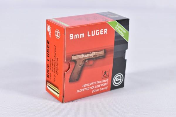 Munition bleihaltig Geco 124grs JHP 20STK 9mmLuger