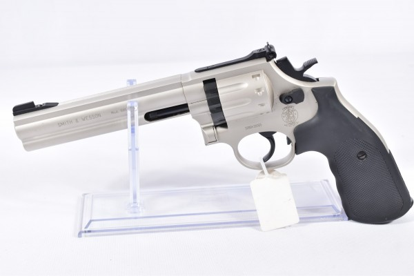 Smith & Wesson 686/6 Nickel 4,5mm
