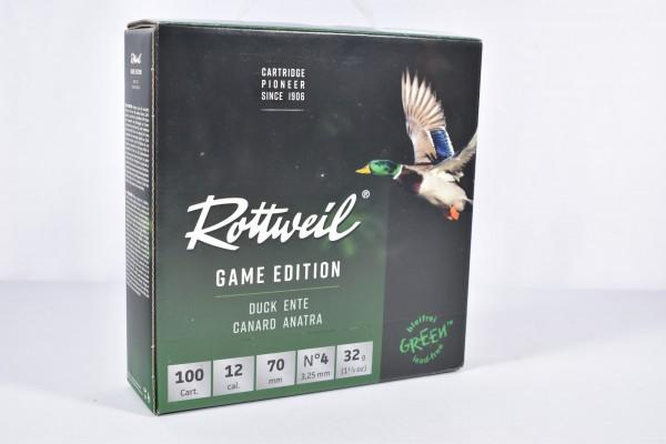 Stahl Flinte Rottweil 32g Game Edition 3,25mm 100STK 12/70