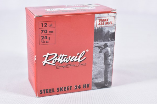 Stahl Flinte Rottweil 24g Steel Skeet HV 25STK 12/70