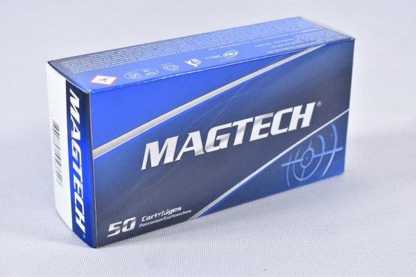 Munition bleihaltig Magtech 240grs SJSP-Flach 50STK .44RemMag