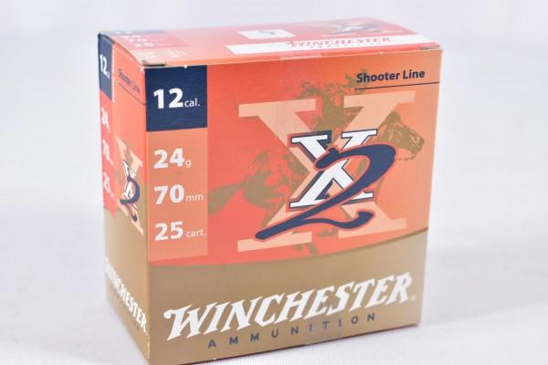 Verbleit Flinte Winchester 24g X2 25STK 12/70