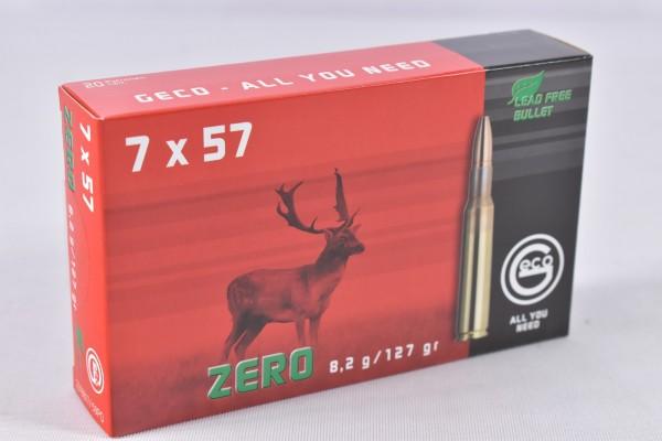 Munition bleifrei Geco 127grs Zero 20STK 7x57