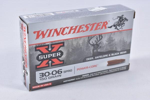 Munition bleifrei Winchester 150grs Power-Core 20STK .30-06SPRG