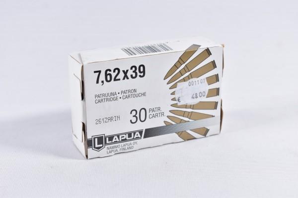 Munition bleihaltig Lapua 30STK 7,62x39