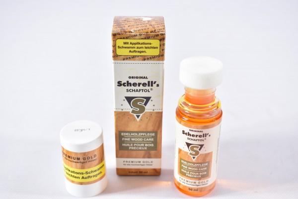 Scherell Schaftöl Premium Gold 50ml