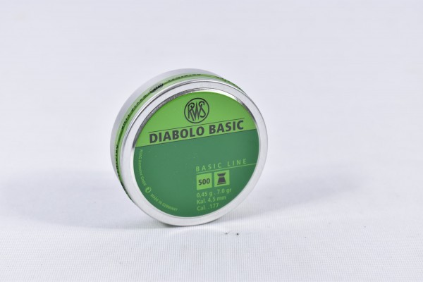 Diabolo RWS 0,45g Basic Line 500STK 4,5mm