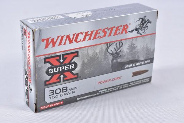 Munition bleifrei Winchester 150grs Power-Core 20STK .308Win.
