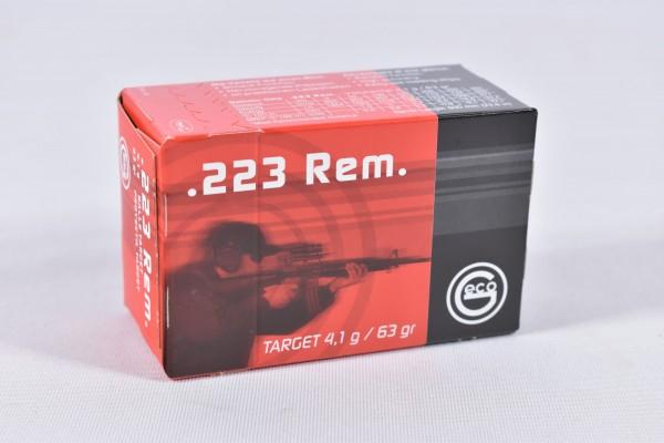 Munition bleihaltig Geco 63grs FMJ 50STK .223Rem