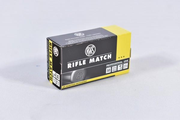 Munition bleihaltig RWS 40grs Rifle Match 50STK .22lr