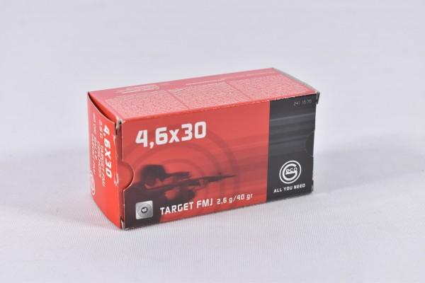 Munition bleihaltig Geco 40grs FMJ 50STK 4,6x30
