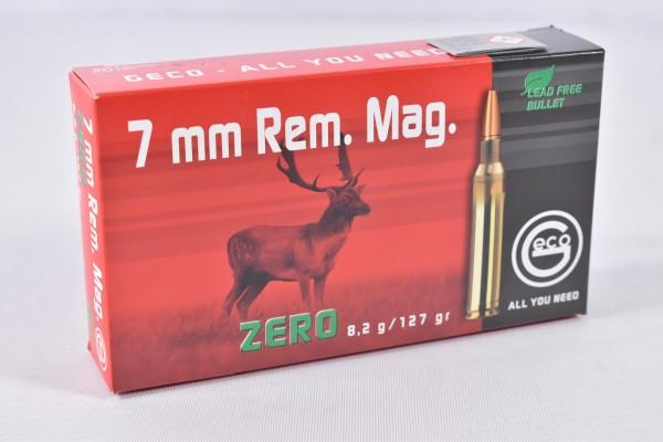 Munition bleifrei Geco 127grs ZERO 20STK 7mm Rem. Mag.