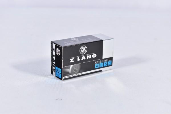 Munition bleihaltig RWS 29grs Z LANG 50STK .22lr