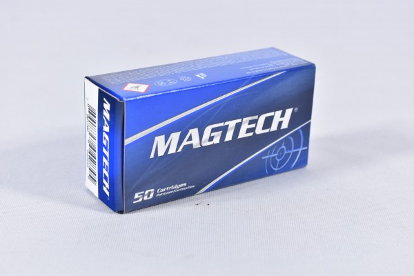 Munition bleihaltig Magtech 115grs FMJ 50STK 9mm Luger