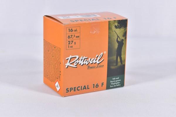 Verbleit Flinte Rottweil 27g Special 16F 2,7mm 25STK 16/67,5