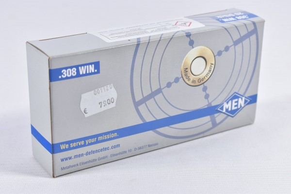Munition bleifrei Men 10g SFC 20STK .308Win.