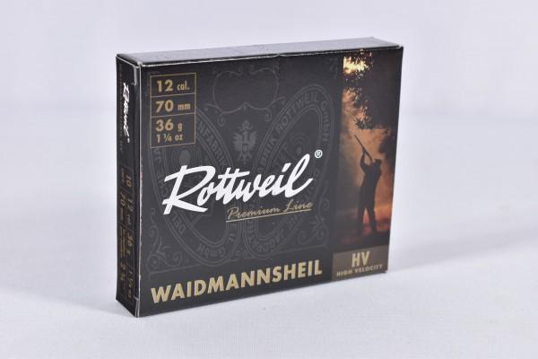 Verbleit Flinte Rottweil 36g WMH HV 4,0MM 10STK 12/70