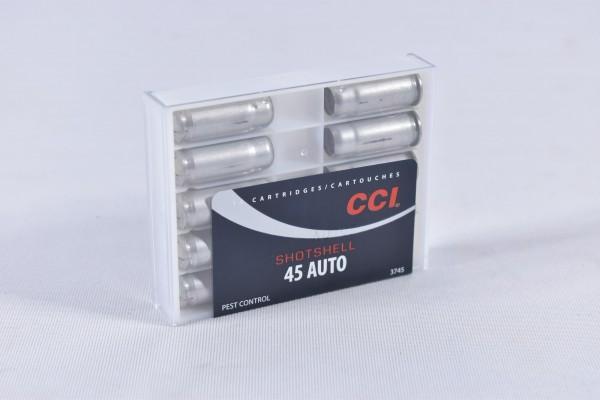 Munition bleihaltig CCI 120grs Shotsell 10STK .45 Auto