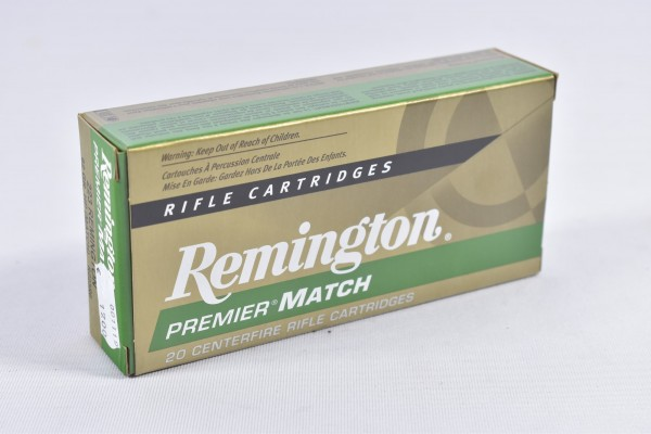 Munition bleihaltig Remington 62grs HP Match 20STK .223Rem.