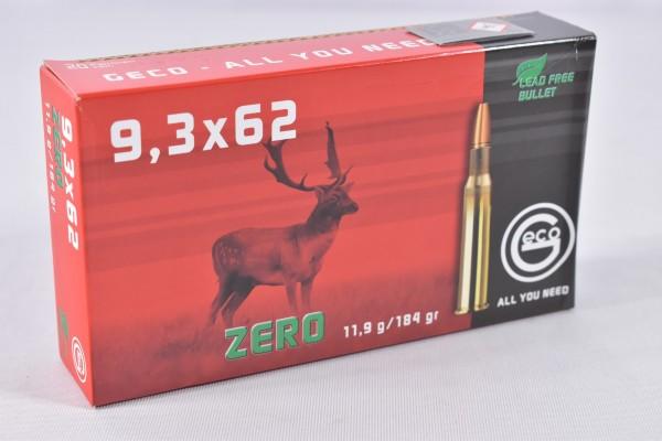 Munition bleifrei Geco 184grs Zero 20STK 9,3x62