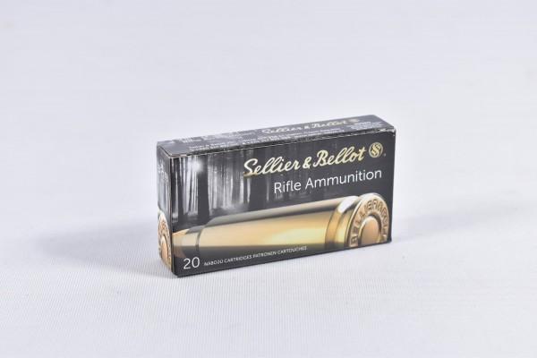 Munition bleihaltig Sellier & Bellot 45grs FMJ 20STK .22Hornet