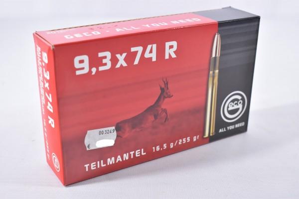 Munition bleihaltig Geco 255grs Teilmantel 20STK 9,3x74 R