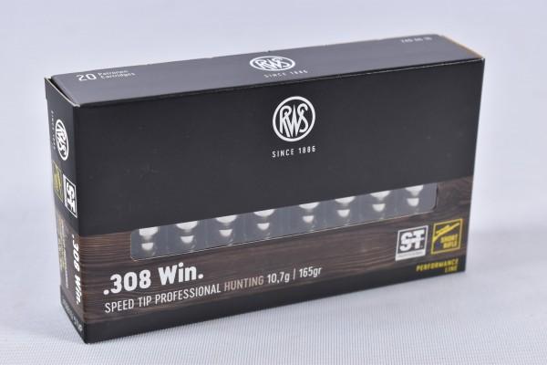 Munition bleihaltig RWS 165grs Speed Tip Pro 20STK .308Win