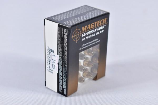 Munition bleihaltig Magtech 65grs JHP 20STK .32AUTO