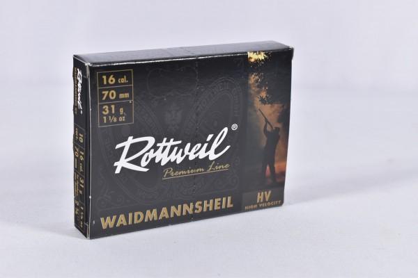 Verbleit Flinte Rottweil 31g WMH HV 3,5mm 10STK 16/70