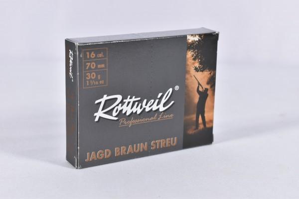 Verbleit Flinte Rottweil 30g JagdBraunStreu 2,7mm 10STK 16/70