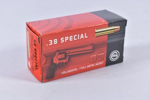 Munition bleihaltig Geco 158grs VM-Flachkopf 50STK .38Special